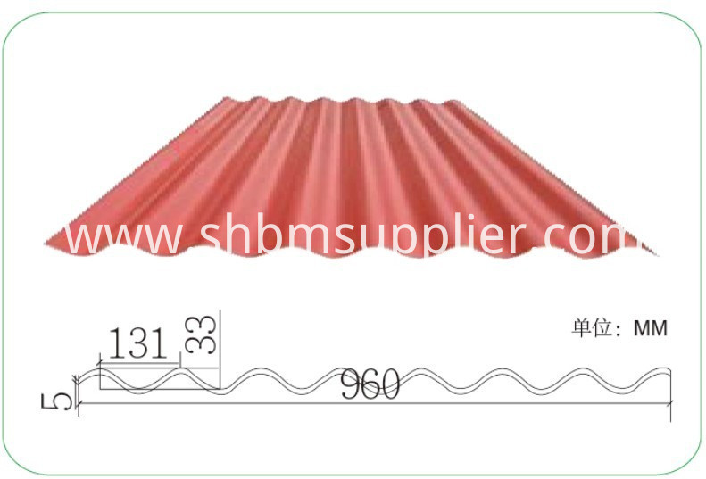 Insulated Mediterranean Roof Tile